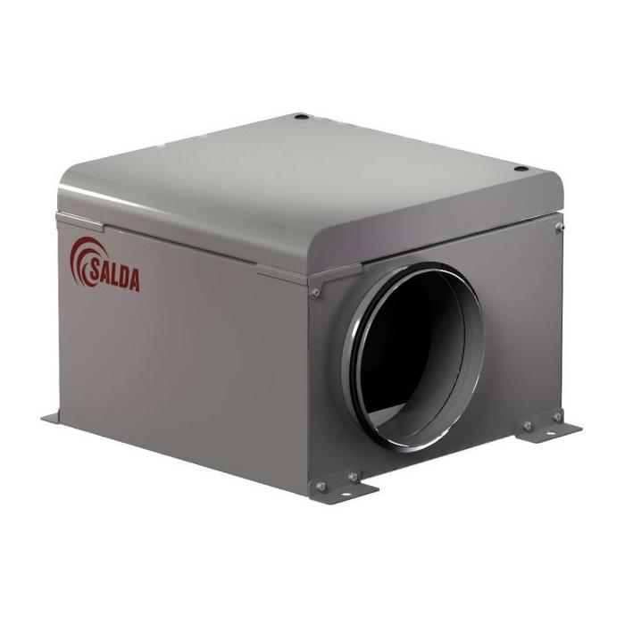 Вентиляторы для круглых каналов в изолированном корпусе AKU 125 D