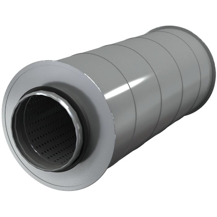Шумоглушители для круглых воздуховодов AKS 125/9
