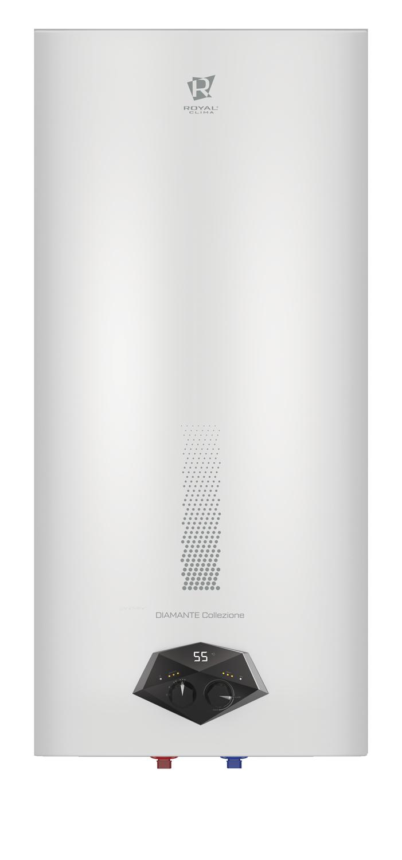 Электрический водонагреватель накопительного типа cерии DIAMANTE Inox Collezione RWH-DIC30-FS
