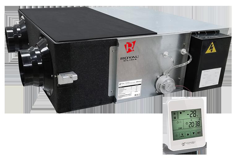 Компактные приточно-вытяжные установки SOFFIO PRIMO RCS-500-P