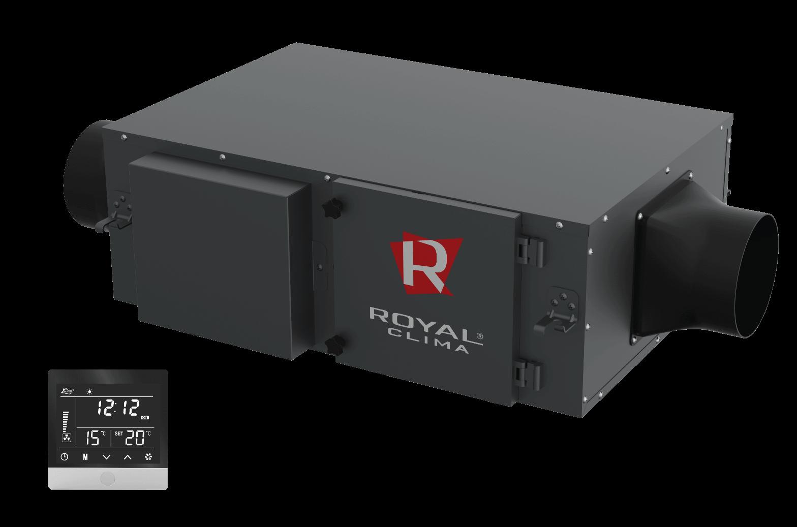 Компактные приточные установки VENTO + EH-1700