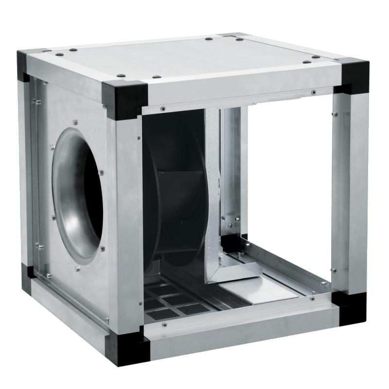 Канальные вентиляторы KUB EKO в изолированном корпусе с EC-двигателями KUB 80-560 EKO