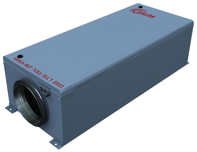 Компактная приточная установка VEKA INT 400-5,0 L1 EKO