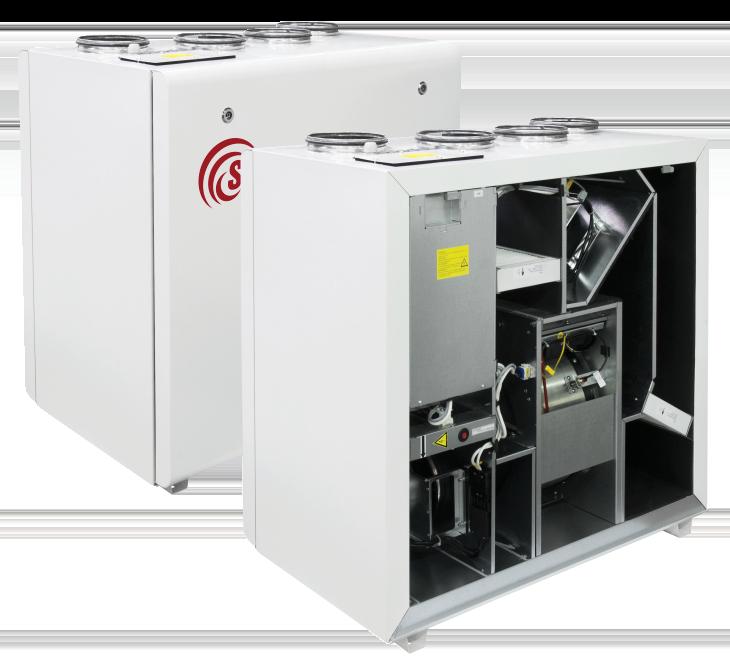 Компактные приточно-вытяжные установки RIRS 700 VWL EKO3.0