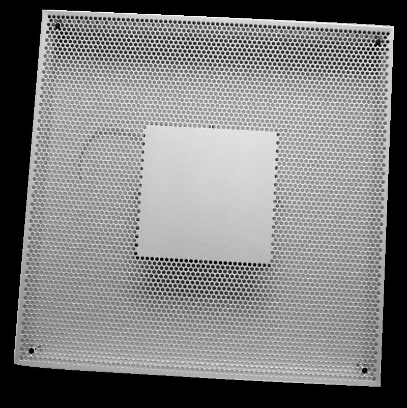 Квадратные приточно-вытяжные диффузоры DSA 100