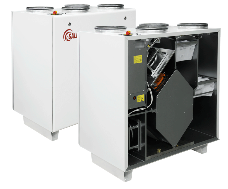 Приточно-вытяжные установки RIS 1200 VEL EKO 3.0