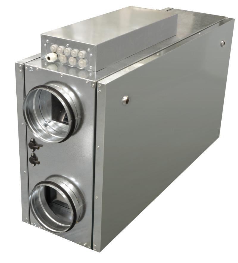 Компактные приточно-вытяжные установки ZPVP 800 HW