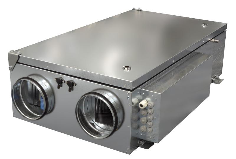 Компактные приточно-вытяжные установки ZPVP 1500 PE