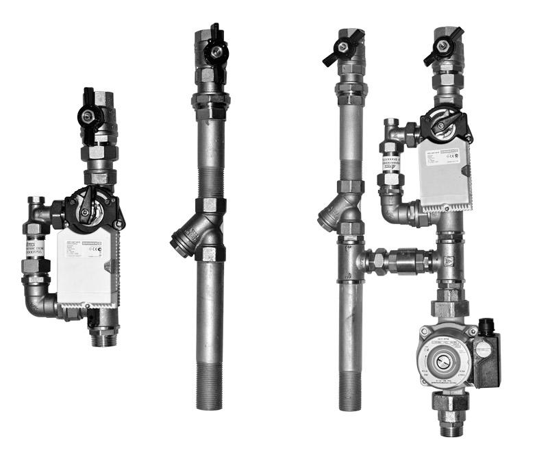 Смесительные узлы ZMP H Kv 4 25-31