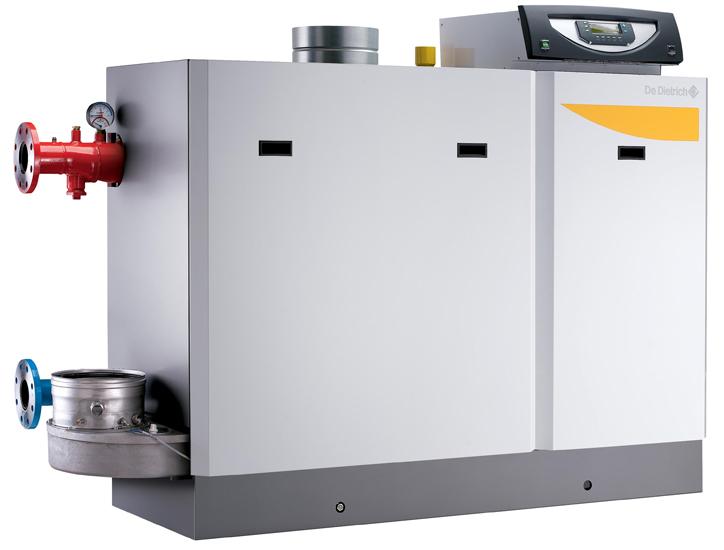 Котел газовый конденсационный De Dietrich C 330 350 Eco INICONTROL (350 кВт) , панель упр. справа