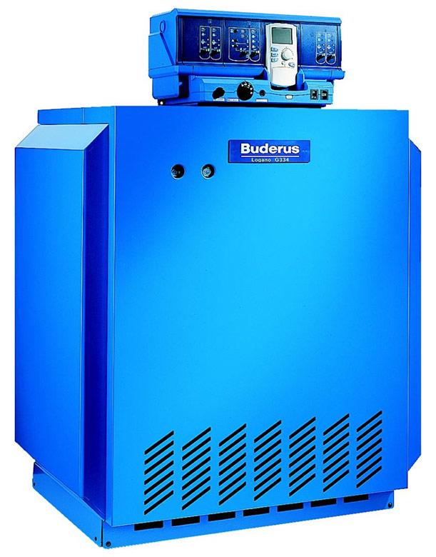 Котел газовый Buderus Logano G334 WS (115 кВт), в собр. виде