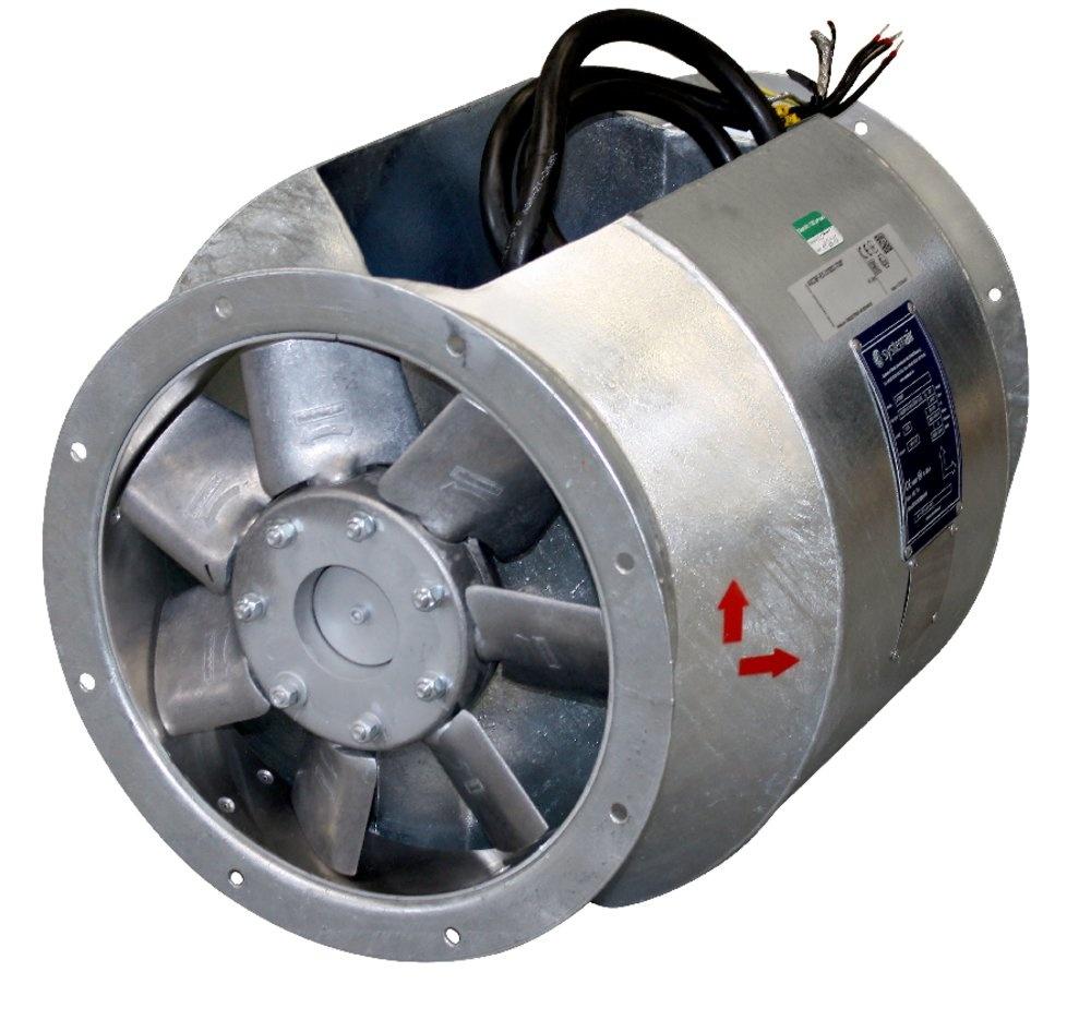 Осевой вентилятор AXCBF-EX 250-6/28°-2 (EX-RU)