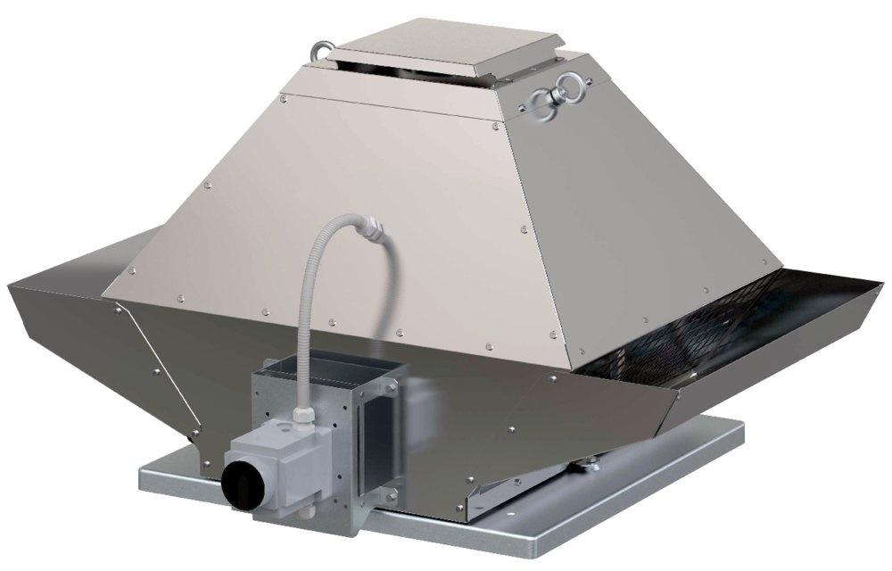 Крышный вентилятор DVG-V 400D6-XS/F400