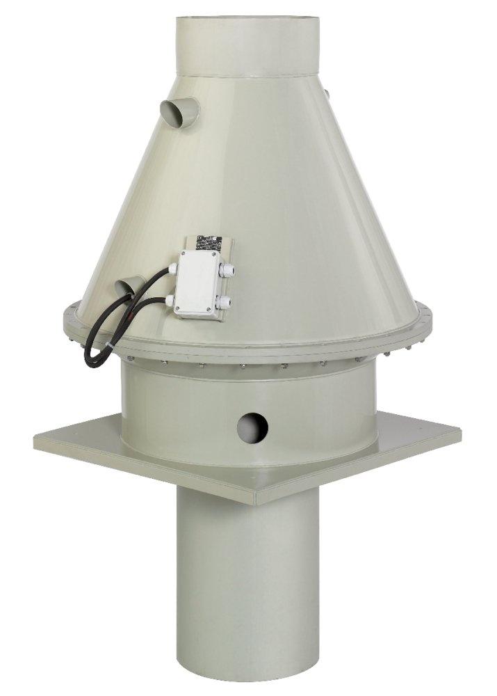 Крышный вентилятор DVP 400D4-8 roof fan plastic