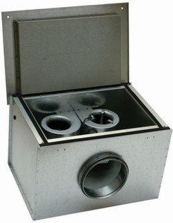 Канальный вентилятор KVK DUO 160 Circular duct fan