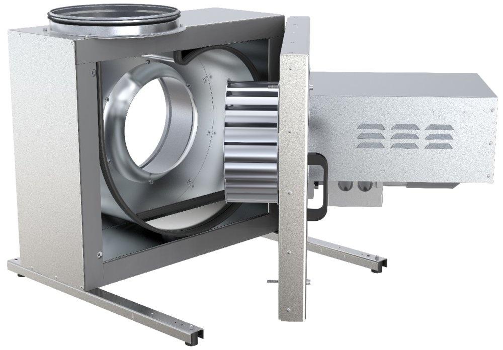 Вытяжной кухонный вентилятор KBT 280D4 IE2 Thermo fan