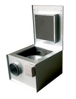Канальный вентилятор KVK 160 L Ins. Circ. duct fan