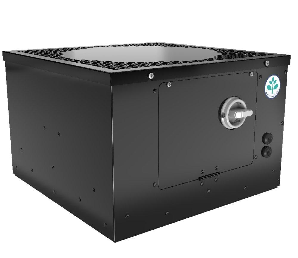 Крышный вентилятор TFC 355 S Sileo Black