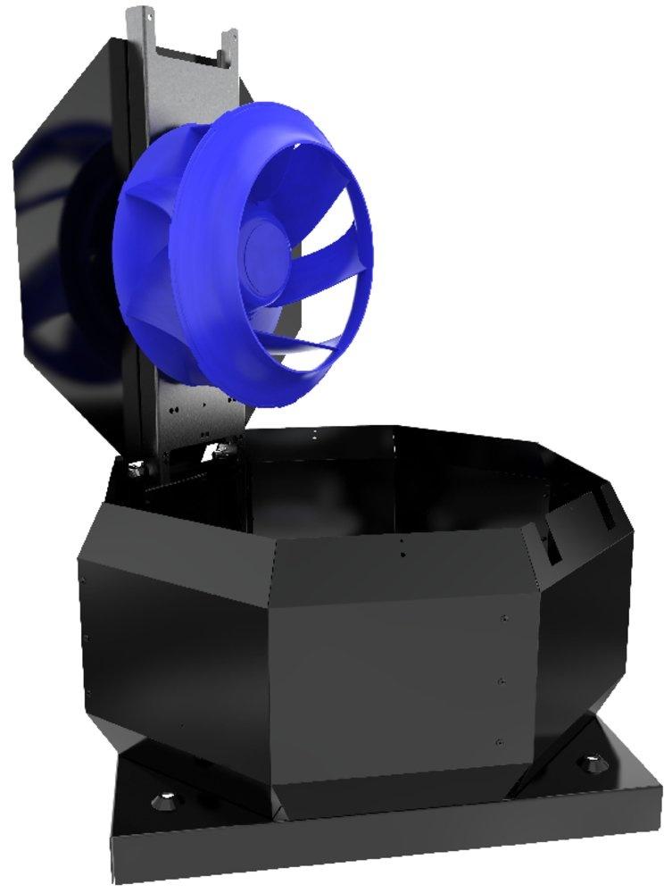 Крышный вентилятор TOE 355-4 Roof fan